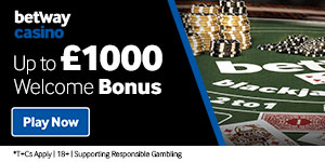Online Casino Betway | Play Casino Games Online - up to £1,000 Welcome Bonus*